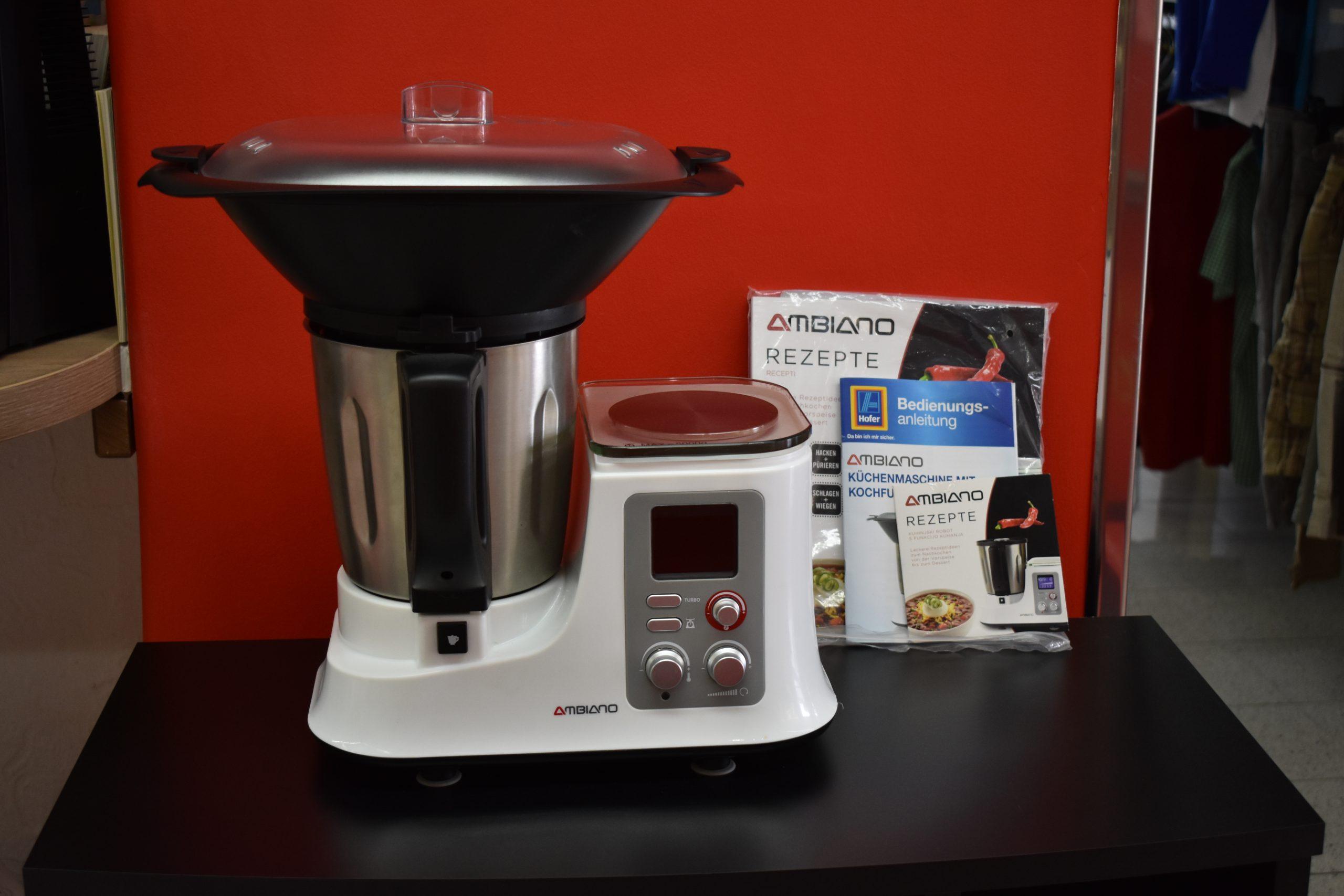 Studio Küchenmaschine Mit Kochfunktion Zubehör 2021